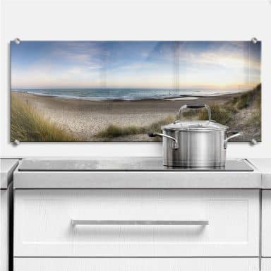Beach Panorama - Kitchen Splashback