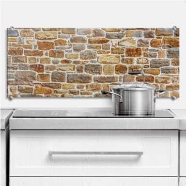 Arizona Stone Wall - Panorama - Kitchen Splashback