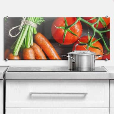 Spritzschutz Fresh Cooking - Panorama