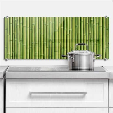Splashback Bamboo - Panorama