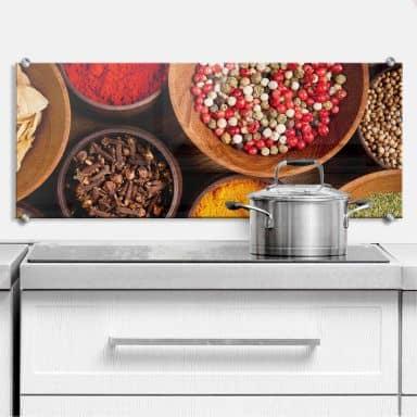 Spices - Panorama - Kitchen Splashback