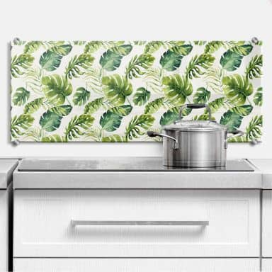 Splashback Kvilis – Jungle 01 – Panorama