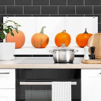 Pumpkins - Panorama Kitchen Splashback