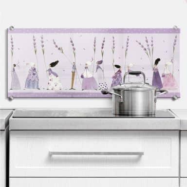 Spritzschutz Leffler - Lavendel Frauen