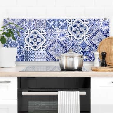Splashback Portuguese Tiles panorama