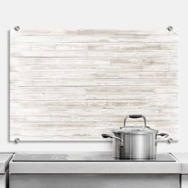 Splashback Shabby Chic Wood