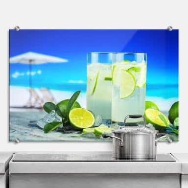 Spritzschutz Tropical Lime