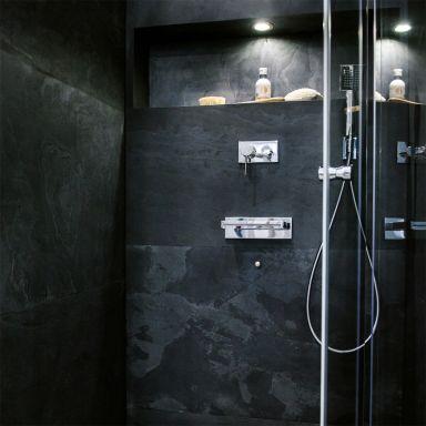 Stein Wandverkleidung Black 122x61 cm