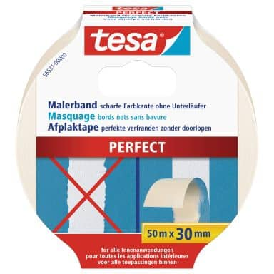 tesa® Afplaktape Perfect 50m x 30mm