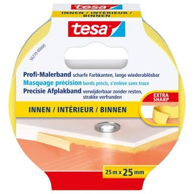 tesa® Precision Masking tape inside 25m x 25mm