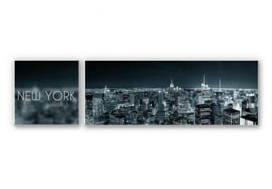 Wandbild The City that never sleeps (2-teilig)