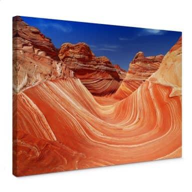 Leinwandbild - The Wave in Arizona