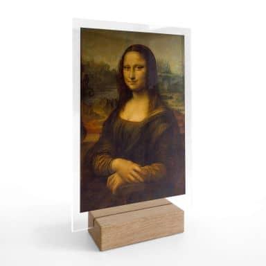 Tischaufsteller da Vinci - Mona Lisa