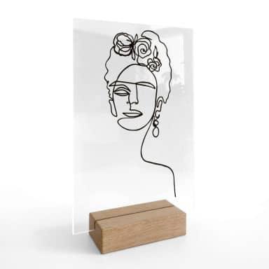 Tischaufsteller Hariri - Frida Kahlo