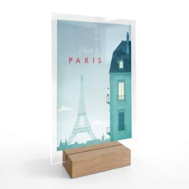Tischaufsteller Rivers - Paris