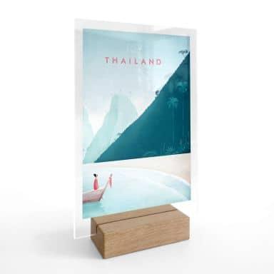 Tischaufsteller Rivers - Thailand