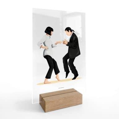 Acrylglas Tafeldecoratie Tohmé - Pulp Fiction