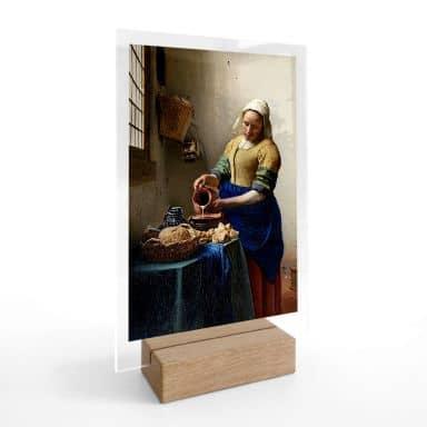 Acrylglas Tafeldecoratie Vermeer - Meisje met de Parel