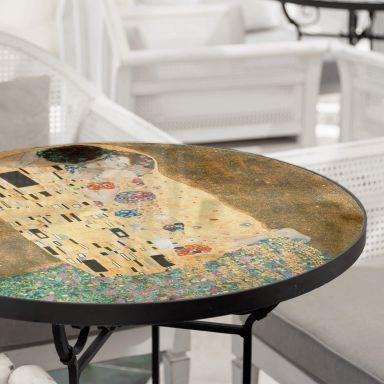 Glazen Tafelblad Klimt - de Kus