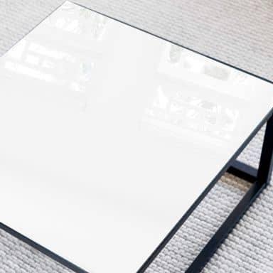 Glazen Tafelblad Wit