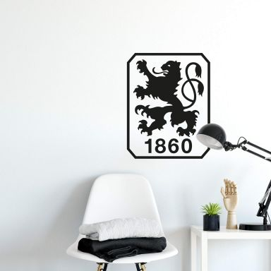 Wandtattoo 1860 München Logo