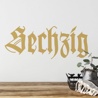 Wandtattoo 1860 München Sechzig