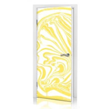 Türdesign Farbimpressionen Gelb