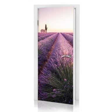 Deursticker Lavendel