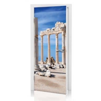 Türdesign Ruinen der Antike