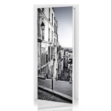 Door decor: Montmartre