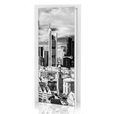 Türdesign Frankfurter Skyline
