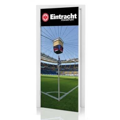 Türdesign Eintracht Frankfurt EckfahneTürdesign Eintracht Frankfurt Eckfahne