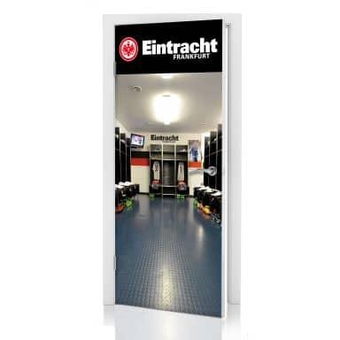 Türdesign Eintracht Frankfurt Kabine