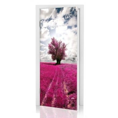 Door decor: The Lonely Tree