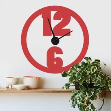 Modern Wall sticker + Clock