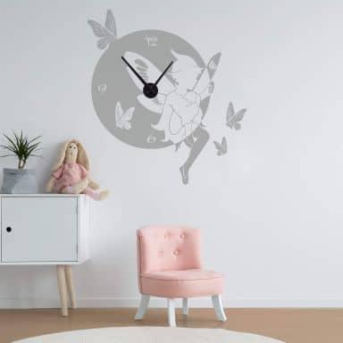 Elf Wall sticker + Clock
