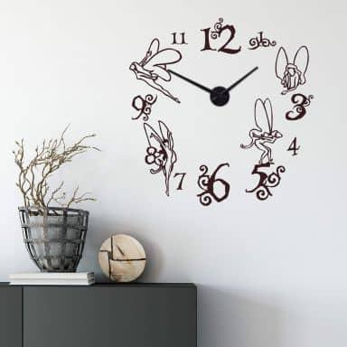 Fairy Forest Wall sticker + Clock