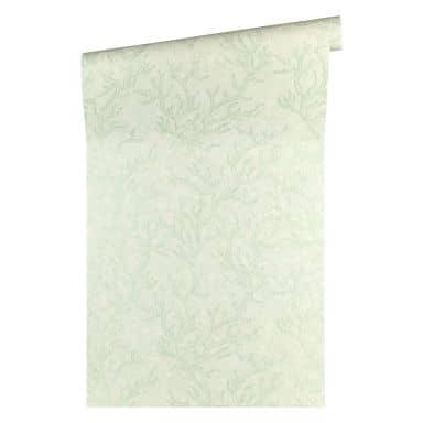 Versace wallpaper non-woven wallpaper Les Etoiles de la Mer green, metallic