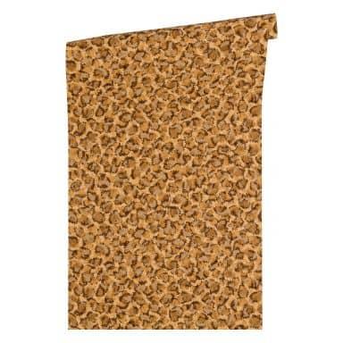 Versace wallpaper non-woven wallpaper Vasmara brown, metallic, orange