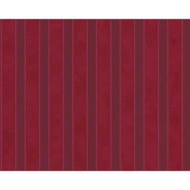 Papier peint Versace Wallpaper Barocco & Stripes rouge