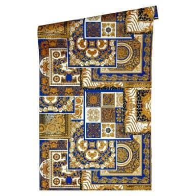 Versace Decoupage wallpaper metallic