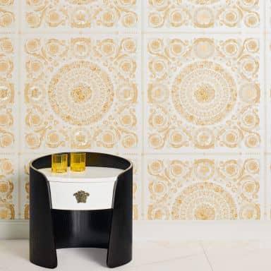 Versace Heritage wallpaper metallic