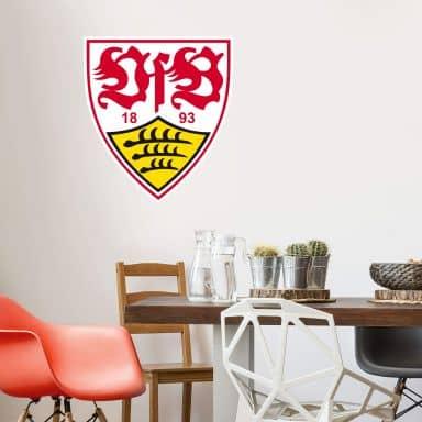 Wandtattoo VfB Stuttgart Logo