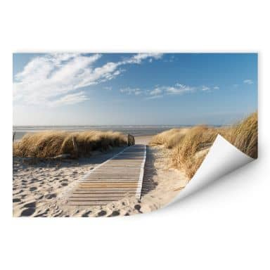 Wall print – to the beach