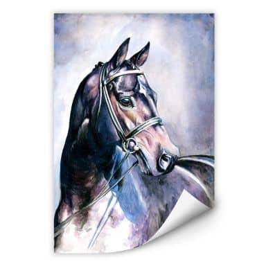 Wallprint W - Aquarell eines Pferdes