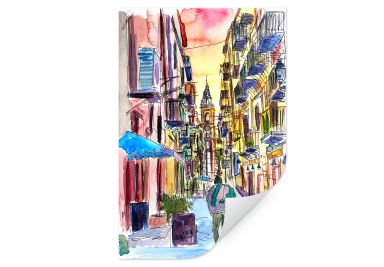 Wallprint Bleichner - Fascinating Palermo