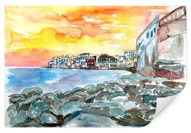 Wallprint Bleichner - Magnificent Mykonos