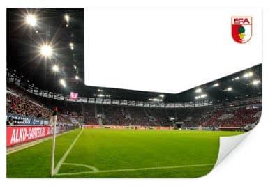 Wallprint W - FC Augsburg Stadion Eckfahne