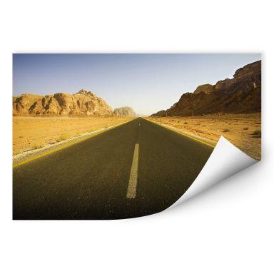 Zelfklevende Poster - Highway