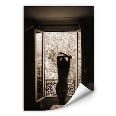 Wallprint W - Der Blick aus dem Fenster!